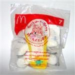 2006 McDonalds Happy Meal Toy Build-A-Bear Workshop #7 Cuddly Teddy As A Baby MIP