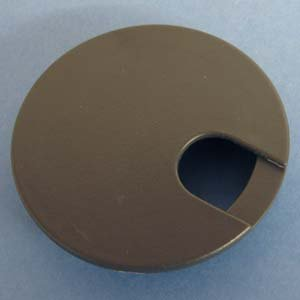 Round Wire Management Grommet Bronze 3''