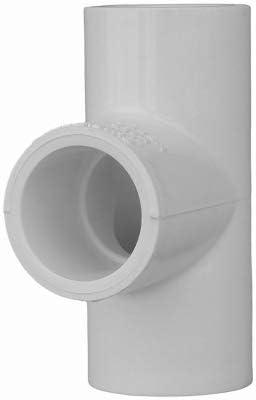 PVC 02400 0800HA Schedule 40 PVC Pressure Pipe Fitting, Tee, White, 3/4-In. - Quantity 50