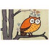 jelly bean rug owl - 2