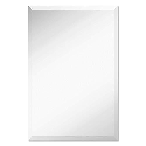 Elevens Frameless Rectangle Wall Mirror 30