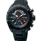 Seiko SPC149P1 Velatura Mens Watch - Black Dial