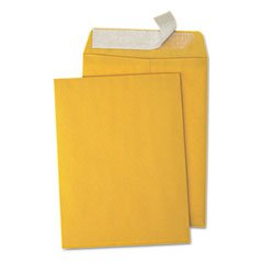 Pull & Seal Catalog Envelope, 9 x 12, Light Brown, 100/Box