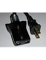 Power Cord for Vintage Farberware Coffee Percolator Urn Model 155-A (3/4 2pin) ()