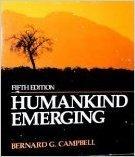 Humankind Emerging 9780673397119