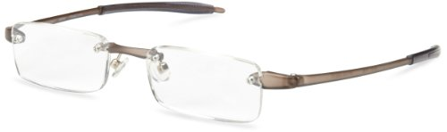Eyewear Lens Smoke - Visualites 201 Reading Glasses,Smoke Frame/Clear Lens,3.50 Strength,48 mm