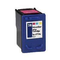 C8728a Colour - Remanufactured Color Inkjet Cartridge for HP C8728A #28