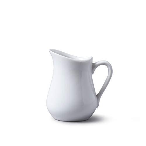 (Wm Bartleet & Sons, Porcelain Traditional Jug 100 ml, 4 fl.oz - White)