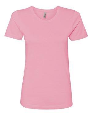 adies Boyfriend T-Shirt, Light Pink, X-Large (Boyfriend Light T-shirt)