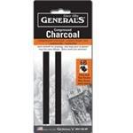General Compressed Charcoal Stick 6B 2/Pk ()