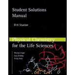 Physical Chemistry for Life Sciences - Student Solution Manual (08) by Stueber, Dirk - Engel, Tom - Reid, Phil [Paperback (2007)]
