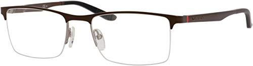 (Carrera 8810 Eyeglass Frames CA8810-0A24-5419 - Brown Ruthenium Frame, Lens Diameter 54mm,)