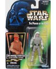 Hoth Luke Skywalker - Star Wars, The Power of the Force Green Card, Luke Skywalker in Hoth Gear Action Figure, 3.75 Inches