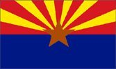 6 ft. Arizona Bicycle Safety Flag with Rear Axle Mounting Bracket ()
