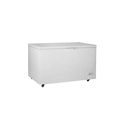 Adcraft BDCF-13 Black Diamond Chest Freezer, 12.6-Cubic Feet, Hinged-Door, 115v