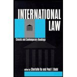 International Law : Classic and Contemporary Readings, , 1555877656