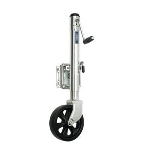 Fulton Single Wheel 1,500 lbs. Bolt-Thru Swivel Jack ()