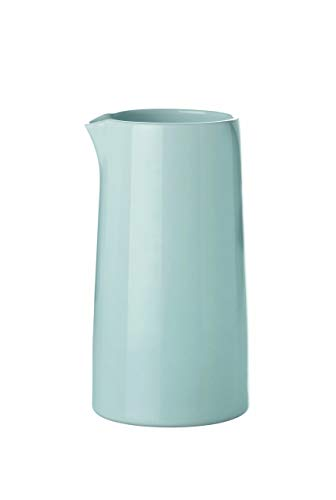 Stelton 1-Piece 0.3 Litre Glazed Porcelain Emma Milk Jug Thermo, Blue Tone
