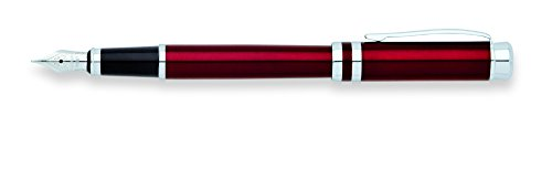 Cross Franklin Covey Freemont, Vineyard Red Lacquer/Chrome, Medium Fountain Pen (FC0036IM-3MS) Photo #2