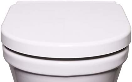 Bullseat 3 WC Sitz weiß • passend zu Duravit Starck 2/3 • Absenkautomatik/Softclose • abnehmbar • click n' clean • Toilettendeckel überlappend • Klobrille • hochwertiges Duroplast