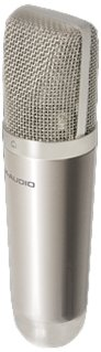 M-Audio Nova | Large-Capsule Cardioid Condenser Microphone with Evaporated-Gold Diaphragm (Hard Mount & Soft Case included)