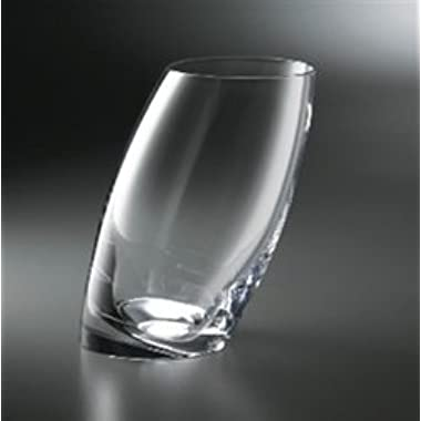 Nambe Tilt Highball/Beverage Glasses, 16-Ounce, Set of 2
