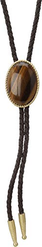 M&F Western Unisex Bolo Tie Tiger Eye Pendant One Size