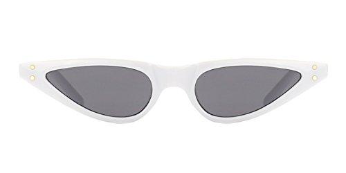 mujer Gafas TIJN de Blanco sol para FIWdzR