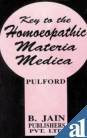 Key to the Homoeopathic Materia Medica, A. Pulford, 8170216885