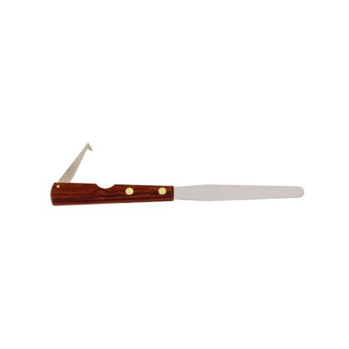 John M. Maris S/STL-CP 4 1/2'' Cotton Pik Counting Spatula with Rosewood Handle, 1'' Height, 1'' Wide, 4.5'' Length, Stainless Steel (Pack of 12) by John M. Maris
