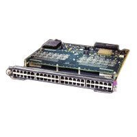 Cisco Switching Module - Switch - 48 ports - EN, Fast EN - 10Base-T, 100Base-TX - PoE - plug-in module