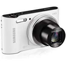 Samsung WB30F Smart Wi-Fi Digital Camera, 16.2 Megapixel, 10X zoom, 3.0' LCD Display (White) (OLD MODEL)