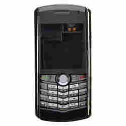 Housing (Faceplate with Lens) for BlackBerry 8100 Pearl (Dark Gray) - Pearl Blackberry Faceplates