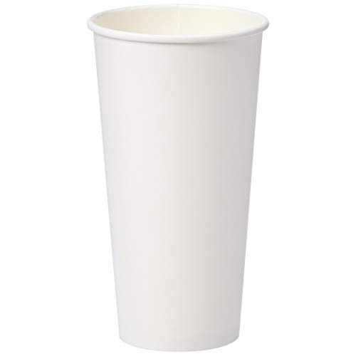 AmazonBasics Compostable PLA Laminated Hot Paper Cup, 20 oz, 250-Count