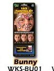 Wolfe FX Bunny Face Painting Kit Professional Quality