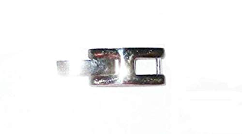 Stainless Steel H Foldover Clasp 3.7mm Fold Over Watch Bracelet Clasp -