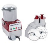 Robot Coupe R2N Continuous Feed Combination Food Processor with 3-Quart Polycarbonate Bowl, 1-HP, 120-Volts (Coupe Robot Mixer Power)