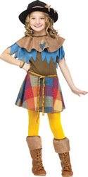 Big Girls' Scarecrow Costume Small (4-6) (Space Jam Costumes)