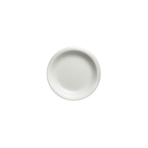 Genpak LAM09 8.9'' Round White Laminated Foam Plate - 500 / CS by Walco Organization