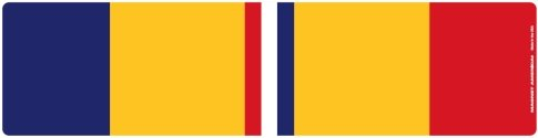 Combat Action Service Ribbon Bar Mini Magnet