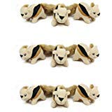 Outward Hound Plush Puppies HIDE A SQUIRREL REPLACEMENT Dog Puzzle Toy 9 Pack