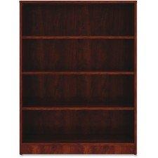 Lorell 4 Shelf Bookcase in Cherry