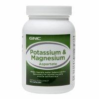 GNC Potassium & Magnesium Aspartate 250, Capsules, 120 ea