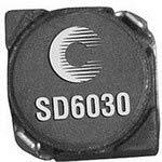 Inductor Power Drum Core 150uH 30/% 100KHz Ferrite 640mA 730mOhm DCR T//R SD6030-151-R