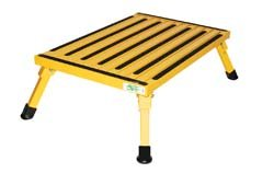 Safety Step XL-08C-Y Yellow X-Large Folding Recreational Step Stool by Safety Step