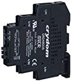 Crydom / CST - DRD24D06 - 2-Pole DIN Rail Mount Dual Solid State Relay; Max. Output Amps w/Heat Sink: 6