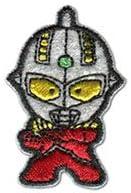 ウルトラマン ワッペン キャラクター 刺繍ワッペン ウルトラヒーローズ アイロンワッペン ステッカー シール 男の子 正規品 入園 入学 わっぺん WAPPEN wappen アップリケ デコ カスタム (2・ウルトラセブン(PU43))