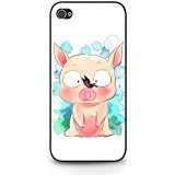 Iphone 5c Cartoon Cell Cover Cute Pink Pig Comic Accel World Phone Case Cover for Iphone 5c