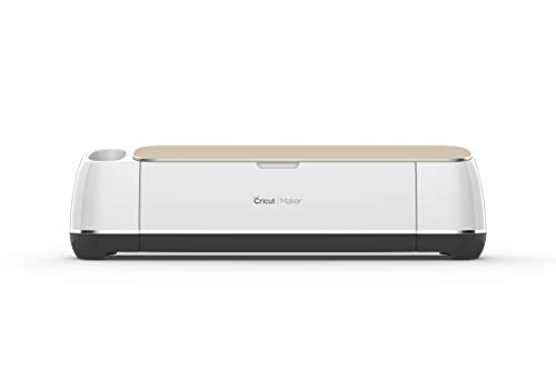 Cricut Maker-Ultimate Smart Electronic Machine-Exclusive Colour-Cuts, Draws, Scores-for Craft, DIY & Sewing, Champagne, One Size