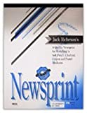 Jack Richeson Newsprint Pad, 32 lbs, 18 x 24 Inches, 100 Sheets